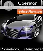 Скриншот темы Audi Locus