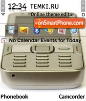 Nokia N82 theme screenshot