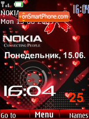 Swf Nokia animated theme screenshot