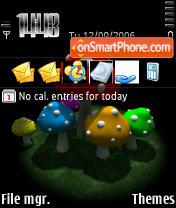 Fly Agaric Black theme screenshot