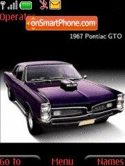 Pontiac Gto theme screenshot