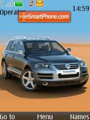Volkswagen Touareg theme screenshot