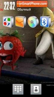 Banana 01 es el tema de pantalla
