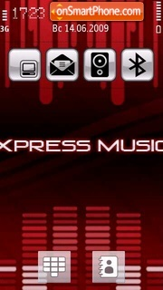 Xpressmusic Style theme screenshot