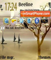Wind Jamer default theme screenshot