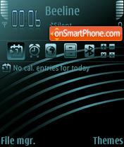 Blue Lines theme screenshot