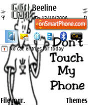 Skudo Touch My Phone theme screenshot