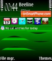 Скриншот темы Hypnotic