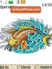 Koi Fish theme screenshot