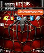 Spider Man Symbian es el tema de pantalla