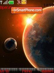 Universe Theme theme screenshot
