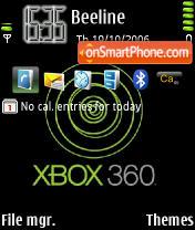 XBox Mellie75 theme screenshot