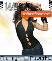 Hot Priyanka theme screenshot