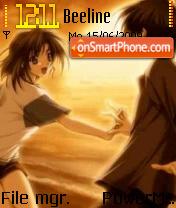 Anime Love 05 es el tema de pantalla