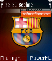 Barca 03 theme screenshot