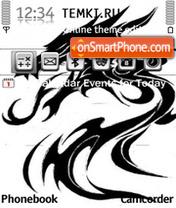 Dragon Graphics theme screenshot