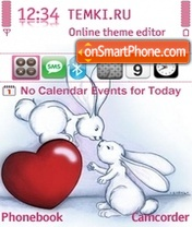 Bunnies Love Theme-Screenshot