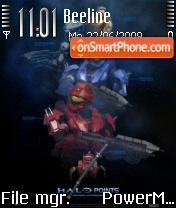 Halo Theme theme screenshot