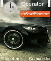 Bmw Black tema screenshot