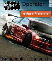 BMW Drift tema screenshot