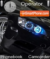BMW M3 E92 theme screenshot