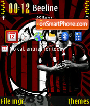 Capitan Maldini theme screenshot