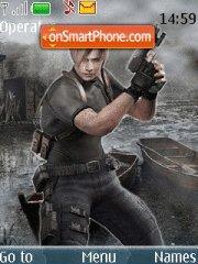 Resident Evil 4 theme screenshot
