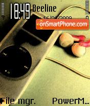 Listen ipod tema screenshot