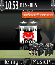 Besiktas theme screenshot