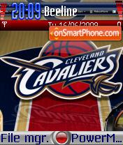Cleveland Cavaliers 01 theme screenshot