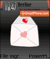 Love Latter es el tema de pantalla