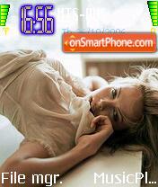 Charlize Theron 5 theme screenshot