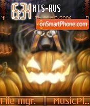 Pumpkin King theme screenshot