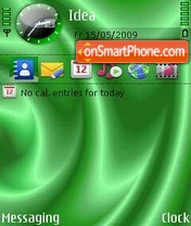 Green Silk theme screenshot