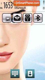 Vector Face tema screenshot