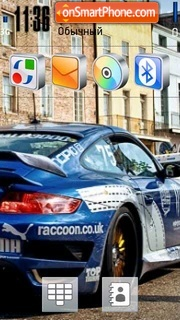 Скриншот темы Porsche Tuning