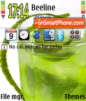 Lime theme screenshot