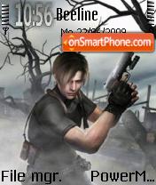 ResidentEvil Theme es el tema de pantalla