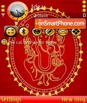 Ganesh theme screenshot