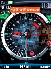 Swf Speedo tema screenshot