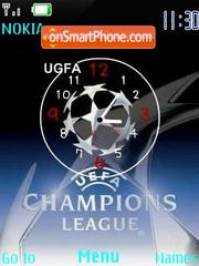 Champions Clock es el tema de pantalla
