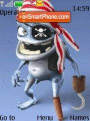 Pirate Frog es el tema de pantalla