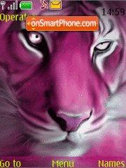 Pink Tiger theme screenshot