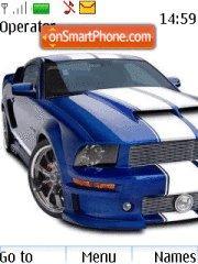 Ford Mustang 68 theme screenshot