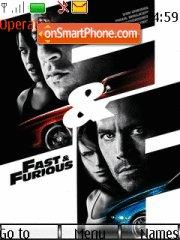Fast And Furious 05 theme screenshot