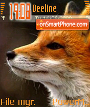 Foxy theme screenshot