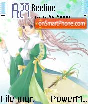 Cute Anime 02 theme screenshot