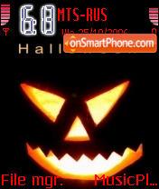 Black Halloween theme screenshot