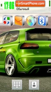 Vw Golf Gti V2 theme screenshot