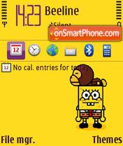 Sponge Bob 03 es el tema de pantalla